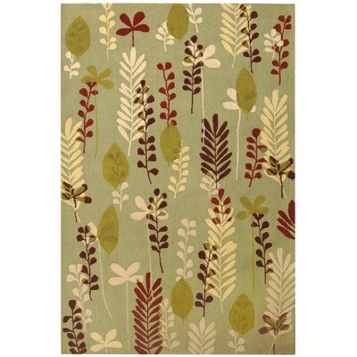 Berkeley Fern/Ivory Area Rug