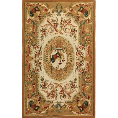 Kinchen Taupe Novelty Area Rug Rug Size: Rectangle 18 x 26