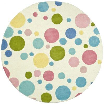 Soho Circle Pastel Area Rug Rug Size: Round 6'