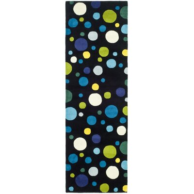 Soho Black Area Rug Rug Size: Runner 2'6
