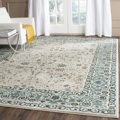 Zennia Blue Area Rug Size: Rectangle 4 x 6