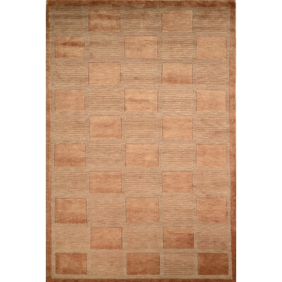 Tibetan Strategy Copper Area Rug Rug Size: 6 x 9