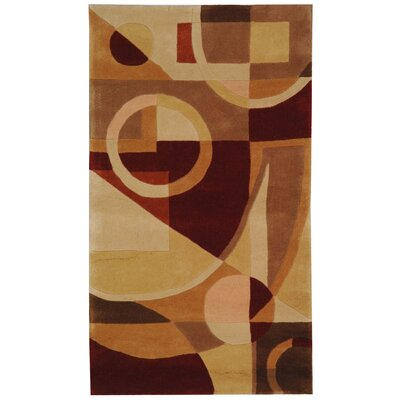 Rodeo Drive Hand-Tufted Beige/Brown Area Rug Rug Size: 76 x 96