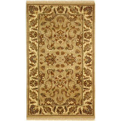 Dynasty Beige/Brown Area Rug Rug Size: Rectangle 5 x 8