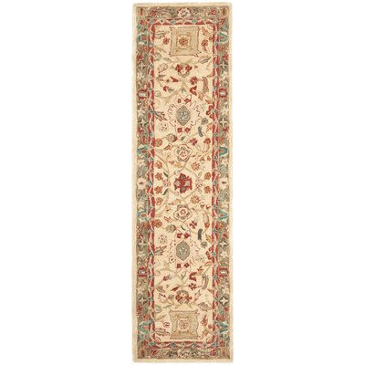 Pritchard Hand Knotted Area Rug Rug Size: Runner 23 x 10