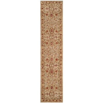 Pritchard Hand-Woven Wool Area Rug Rug Size: Runner 23 x 12