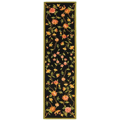 Kinchen Floral Area Rug Rug Size: Runner 26 x 10