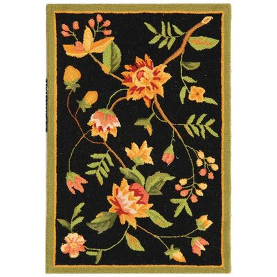 Kinchen Floral Area Rug Rug Size: Rectangle 18 x 26