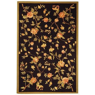 Isabella Floral Area Rug Rug Size: 79 x 99