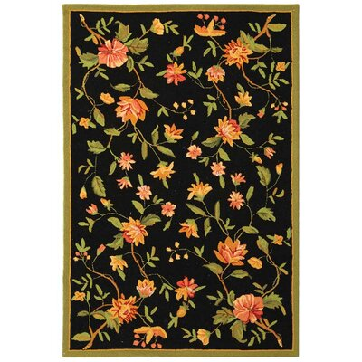 Chelsea Floral Area Rug Rug Size: 3'9