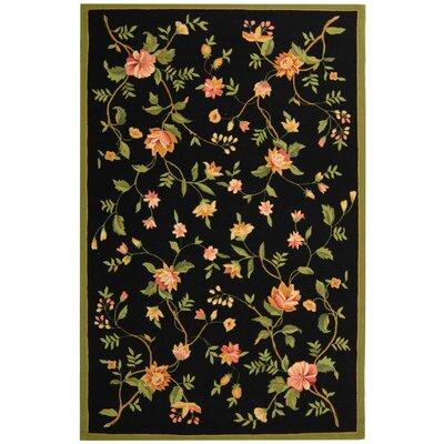 Isabella Floral Area Rug Rug Size: 53 x 83