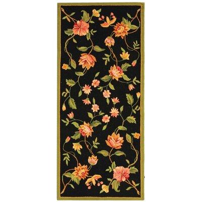 Isabella Floral Area Rug Rug Size: Runner 26 x 6