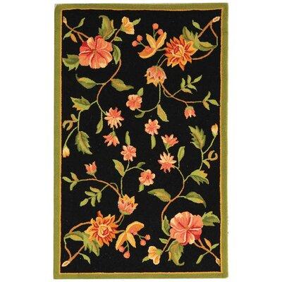 Isabella Floral Area Rug Rug Size: 2'6