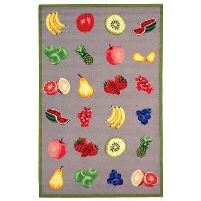 Chelsea Stone Savoy Fruit Novelty Area Rug Rug Size: 7'9
