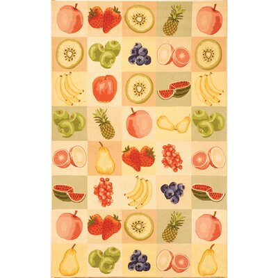 Kinchen Fruit Novelty Area Rug Rug Size: Rectangle 79 x 99