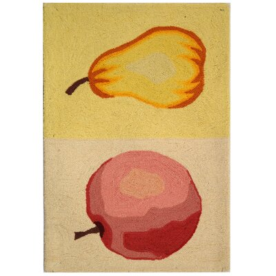 Isabella Fruit Novelty Area Rug Rug Size: 18 x 26