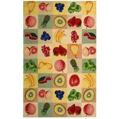 Kinchen Fruit Novelty Area Rug Rug Size: Rectangle 53 x 83