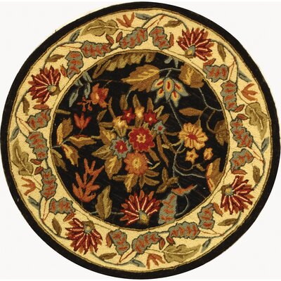 Chelsea Kathleen Floral Area Rug Rug Size: Round 3'