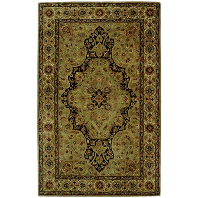 Persian Legend Dark Green Area Rug
