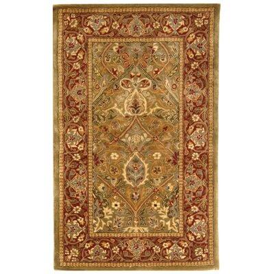 Persian Legend Rust Area Rug Rug Size: 3' x 5'