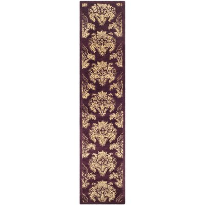 Metro Floral Rug Rug Size: Runner 26 x 10