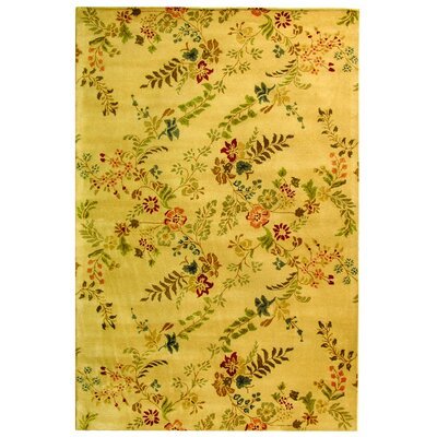 Metro Yellow Rug Rug Size: Rectangle 8 x 10