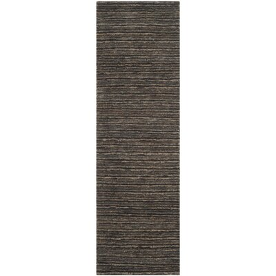 Organica Charcoal Area Rug Rug Size: Runner 2'6
