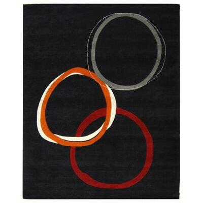 Soho Charcoal Grey Area Rug Rug Size: 83 x 11