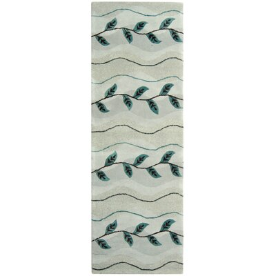 Soho Light Grey Area Rug Rug Size: Runner 26 x 12