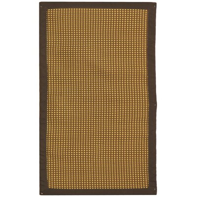 Sierra Honey/Brown Rug Rug Size: 26 x 42