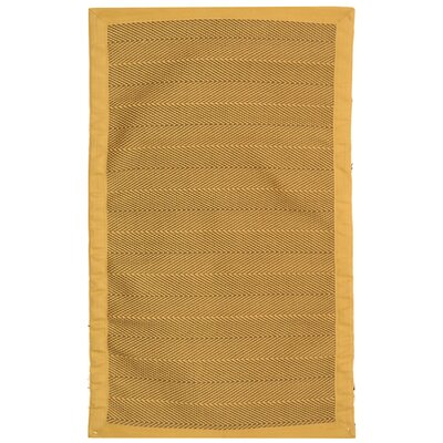 Sierra Honey/Yellow Rug Rug Size: Rectangle 26 x 42