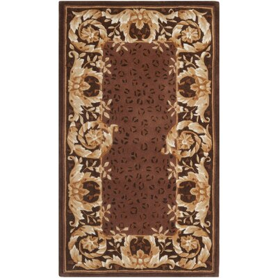Naples Assorted Brown Area Rug Rug Size 2 6 x 4 6