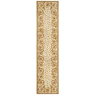 Naples Sand/Stone Area Rug Rug Size: Runner 23 x 12