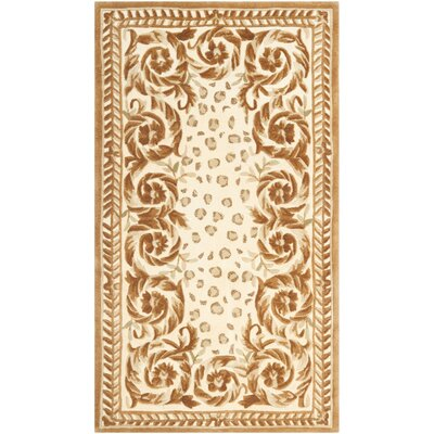 Naples Sand/Stone Area Rug Rug Size: Rectangle 26 x 46
