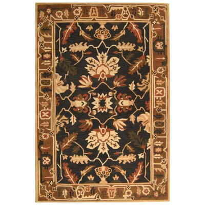 Rodeo Drive Graphite/Camel Area Rug Rug Size: Rectangle 36 x 56