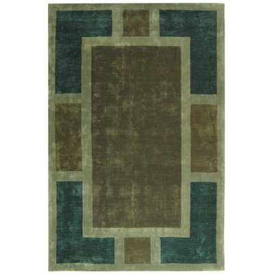 Rodeo Drive Harmony Green Area Rug Rug Size: Rectangle 76 x 96