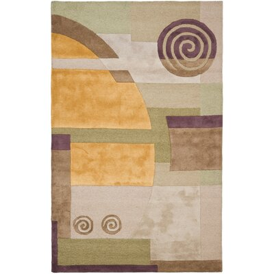 Rodeo Drive Beige Area Rug Rug Size: Rectangle 5 x 8