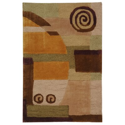 Rodeo Drive Beige Area Rug Rug Size: Rectangle 2 x 3
