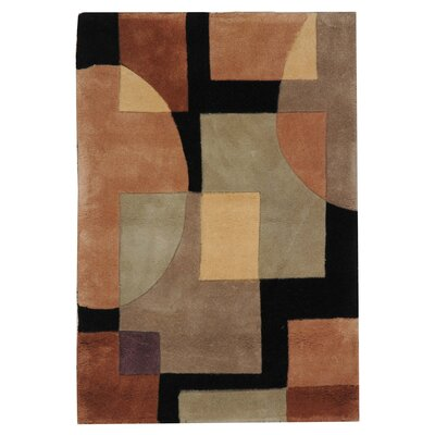 Rodeo Drive Olive/Black Area Rug Rug Size: Rectangle 26 x 46