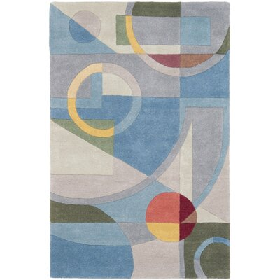 Rodeo Drive Blue Area Rug Rug Size: 2'6