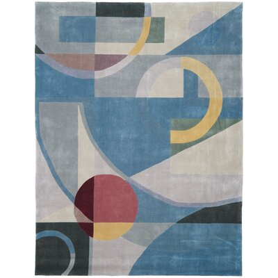 Rodeo Drive Blue Area Rug Rug Size: 8 x 11