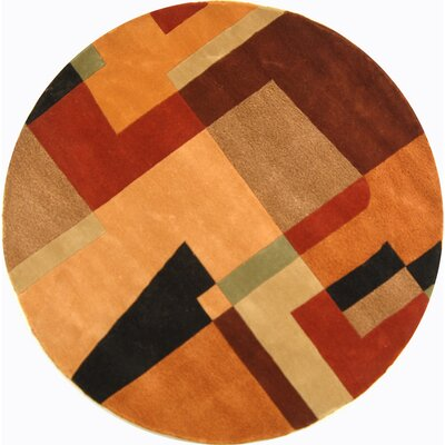 Rodeo Drive Assorted Area Rug Rug Size: Round 59