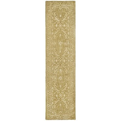 Silk Road Ivory Area Rug Rug Size: Runner 26 x 12