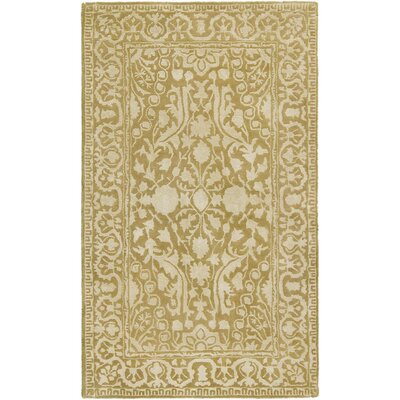 Silk Road Ivory Area Rug Rug Size: Rectangle 4 x 6