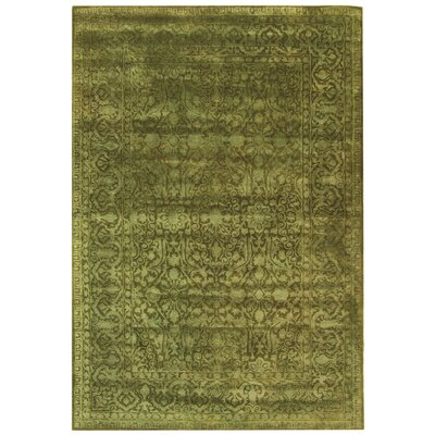 Silk Road Sage Area Rug Rug Size: Rectangle 76 x 96