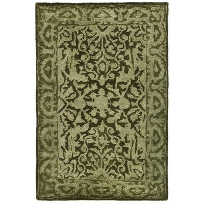 Silk Road Sage Area Rug Rug Size: Rectangle 2 x 3