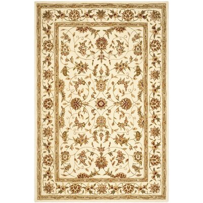 Traditions Ivory Area Rug Rug Size: Runner 26 x 10