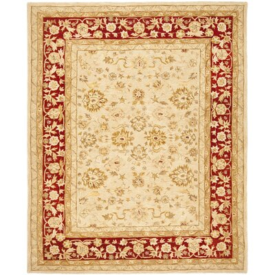 Pritchard Hand-Woven Wool Area Rug Rug Size: Rectangle 5 x 8