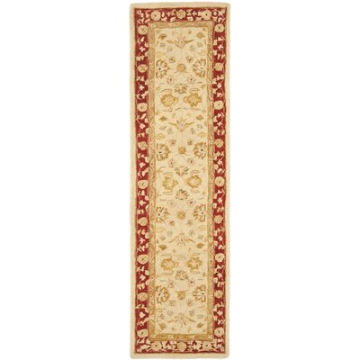 Pritchard Hand-Woven Wool Area Rug Rug Size: Runner 23 x 14