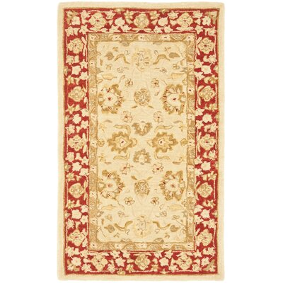 Anatolia Ivory/Red Area Rug